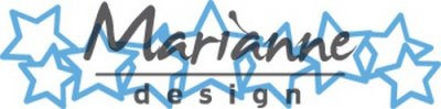 Marianne Design Creatables - Lots of Stars