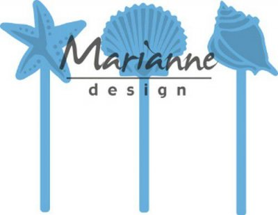 Marianne Design Creatables - Sea Shells Pins