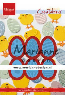 Marianne Design Creatables - Easter Eggs