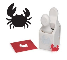 Martha Stewart Medium Punch Crab M283052