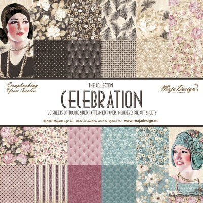 "Maja Design Celebration 12""x12"" Hel kollektion (20 ark)"