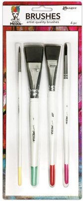 Dina Wakley Media Brushes (4 pack)