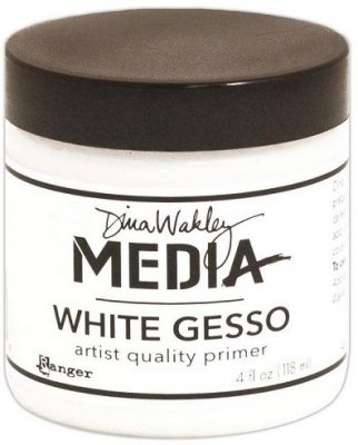 Dina Wakley Media Gesso - White (118 ml)