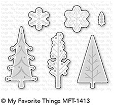 My Favorite Things Die-Namics Dies - Trio of Trees