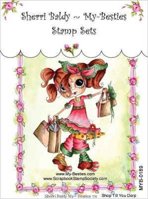 My Besties Clear Stamps - Shop Till You Drop