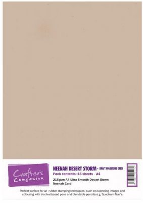 Crafters Companion Neenah Desert Storm A4 (15 sheets)