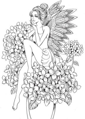 Prima Princesses Cling Stamp - Angelica