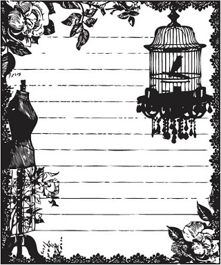 Prima Marketing Clear Stamps - Fairy Belle #2