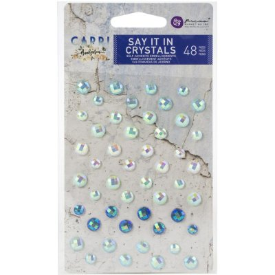 Prima Capri Say It In Crystals - Assorted Dots (48 pack)