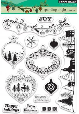 Penny Black Clear Stamp Set - Sparkling Bright