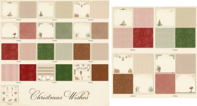 Pion Design Paper Collection - Christmas Wishes (all 12x12 & 6x6 designs)