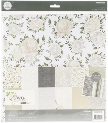 "Kaisercraft 12""x12"" Paper Pack - Two Souls (12 sheets)"
