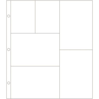 Project Life Photo Pocket Pages - Design G (12 pack)
