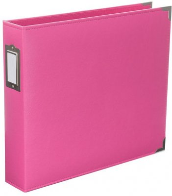 "Project Life 12""x12"" Classic Faux Leather D-Ring Album - Blush"