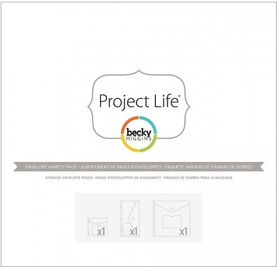 Project Life Big Envelope Pages - Variety Pack (3 pack)