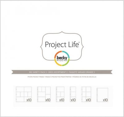 Project Life Big Variety Pack 3