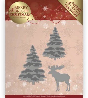 Precious Marieke Dies - Merry and Bright Christmas Forest