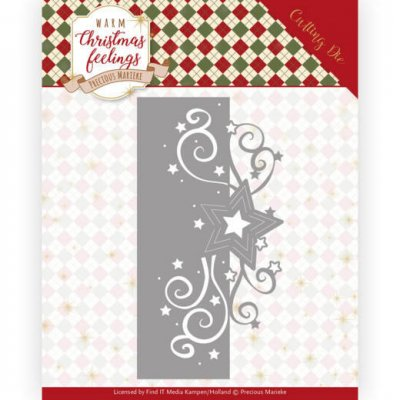 Precious Marieke Dies - Warm Christmas Feelings Swirl Star Edge
