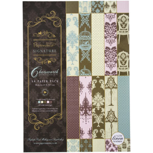 CHATSWORTH A4 LUXURY LINEN PAPER 30PK (120GSM)