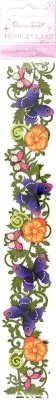 DoCrafts 3D Decorative Floral Borders - Henbury Lane (Butterfly Border)