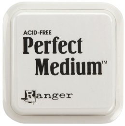 "Ranger Perfect Medium 3""x3"" Stamp Pad - Clear"