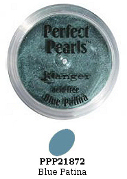 Ranger Perfect Pearls - Blue Patina