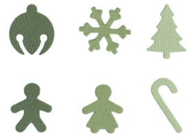 Quickutz Cookie Cutter - Holiday Shapes