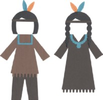 Quickutz Revolution Die - Native American Costumes