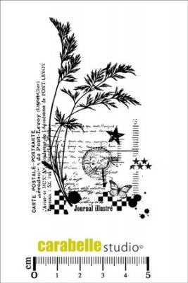 Carabelle Studio Cling Stamp - Postcard