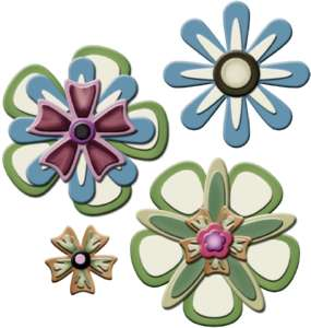 Spellbinders Shapeabilities Flower Creations