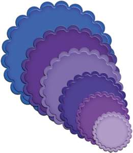 Spellbinders Nestabilities - Classic Scallop Circle - Small
