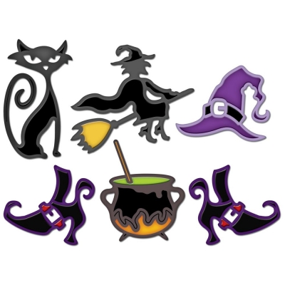Spellbinders Shapeabilities - Witch Brew (5 dies)