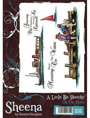 A Little Bit Sketchy Stamp Set - On the Water by Sheena Douglass