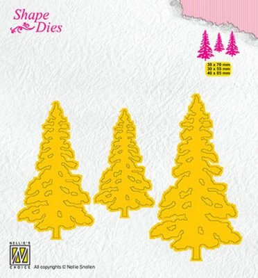 Nellies Choice Shape Dies - Pinetrees