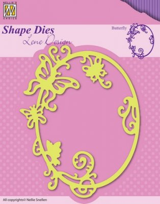 Nellies Choice Shape Die - Summer Butterfly