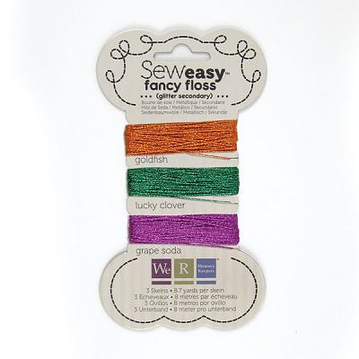 We R Memory Keepers - Sew Easy Fancy Floss, Glitter Secondary