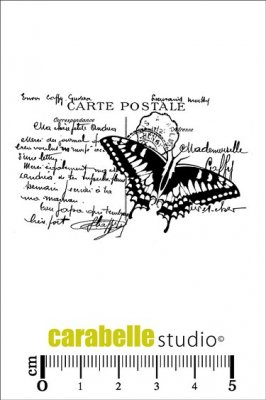 Carabelle Studio Cling Stamp - Butterfly Collage