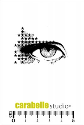 Carabelle Studio Cling Stamp - Make Up Eye Of Stars
