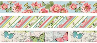 Simple Stories Washi Tape - Simple Vintage Botanicals (3 pack)