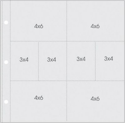 "Simple Stories Snap - Pocket Pages For 12""x12"" Binders (10 pack)"