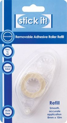 Removable Adhesive Refill (8mm x 10m)