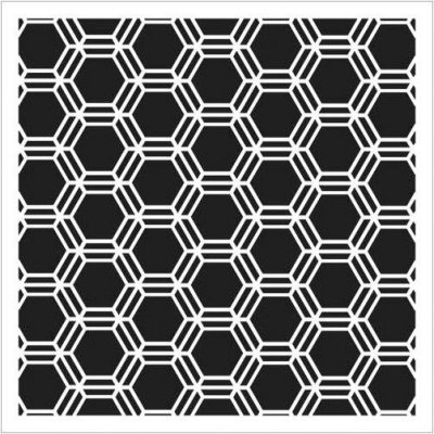 "Crafters Workshop 6""x6"" Template - Mini Honeycomb"