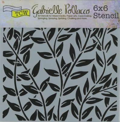 "Crafters Workshop 6""x6"" Template - Jungle Vines"