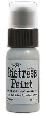 Tim Holtz Distress Paint - Weathered Wood