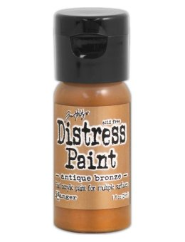 Tim Holtz Distress Paint Flip Top - Antiqued Bronze