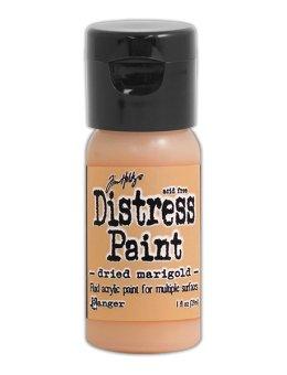 Tim Holtz Distress Paint Flip Top - Dried Marigold