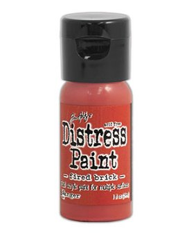 Tim Holtz Distress Paint Flip Top - Fired Brick