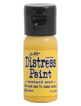 Tim Holtz Distress Paint Flip Top - Mustard Seed