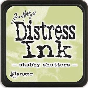 Tim Holtz Distress Mini Ink Pad - Shabby Shutters
