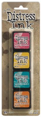 Tim Holtz Distress Mini Ink Kits - Kit 1